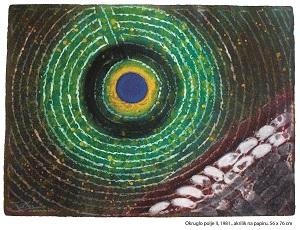 Anton Cetín:Okruglo polje II, 1981.